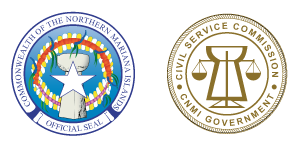 CNMI & Civil Service Seals